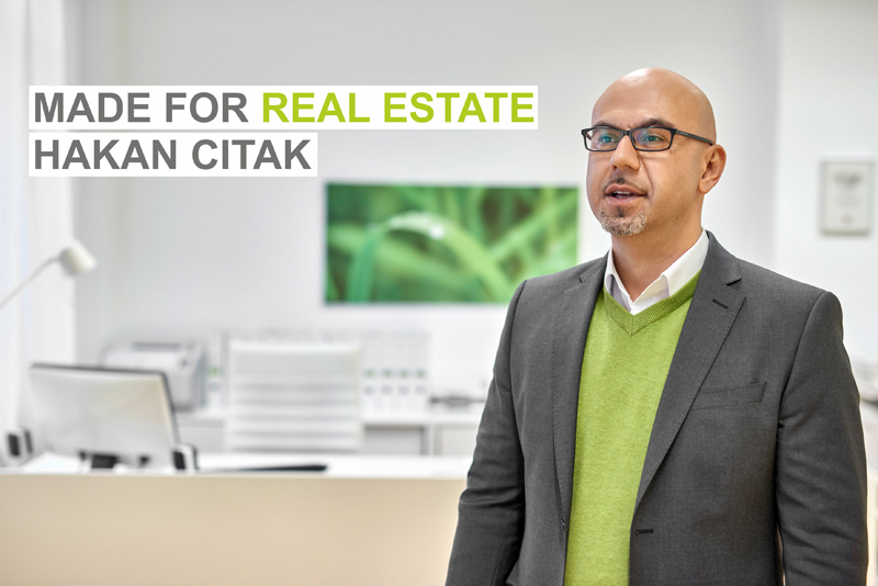 Made for Real Estate - Hakan Citak - Immobilienmakler Köln Nord
