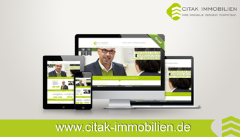 Neue Website Citak Immobilien in Köln - Nord